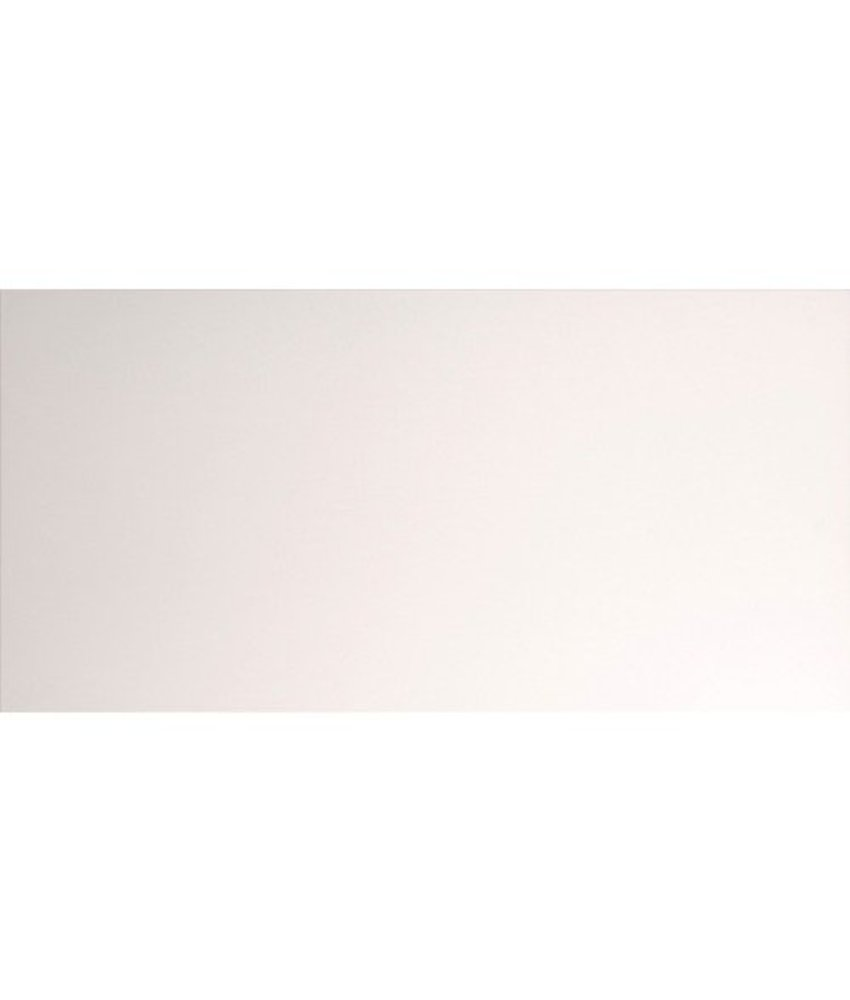 Wandfliese Mountain Weiß Uni matt - 40 cm x 120 cm x 0,9 cm