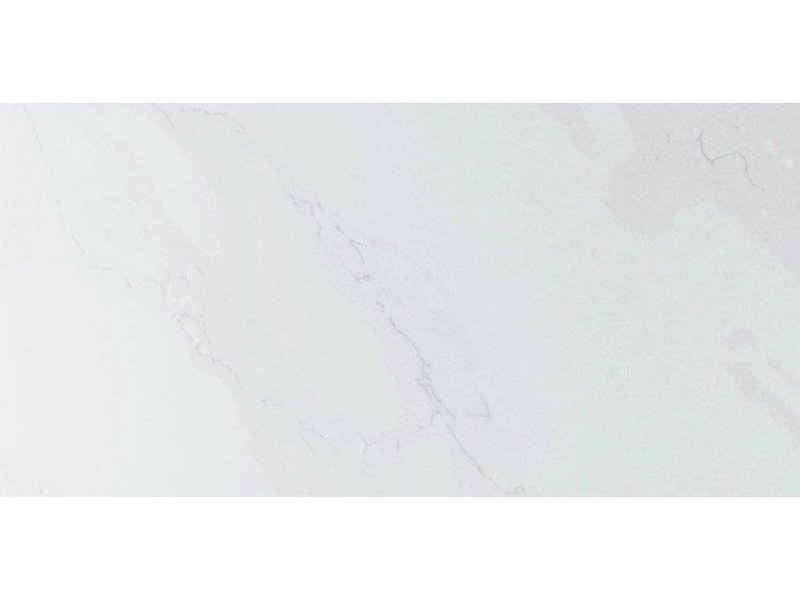 Wandfliese Carera Weiß glänzend - 30 cm x 60 cm x 1 cm
