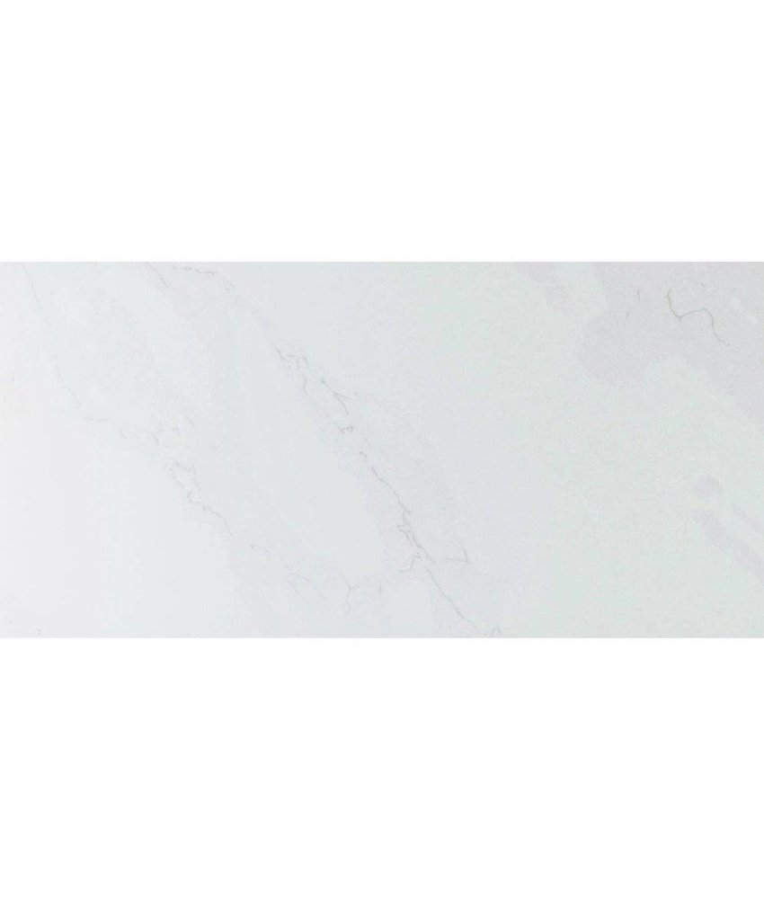Wandfliese Carrara Weiß glänzend - 30 cm x 60 cm x 1 cm
