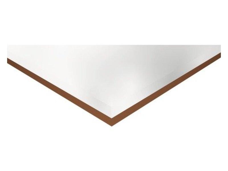 Facettenfliese Metro Weiß glänzend - 31,6 cm x 60 cm x 1 cm