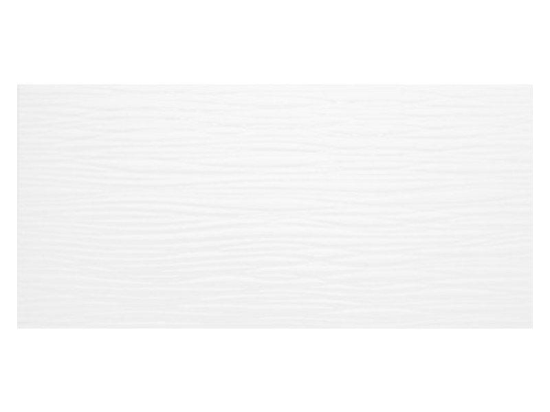 Wandfliese Nora Weiß  glänzend - 20 cm x 50 cm x 0,8 cm