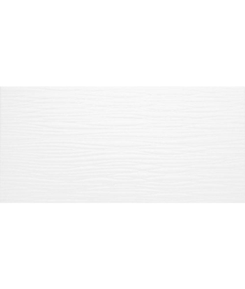 Wandfliese Mona Weiß  glänzend - 20 cm x 50 cm x 0,8 cm