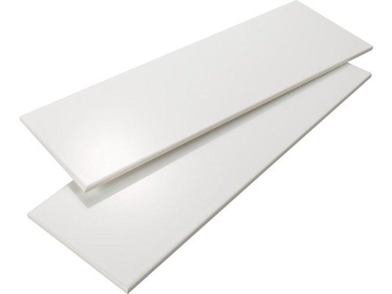 Wandfliese Polar Weiß glänzend- 30 cm x 60 cm x 0,8 cm