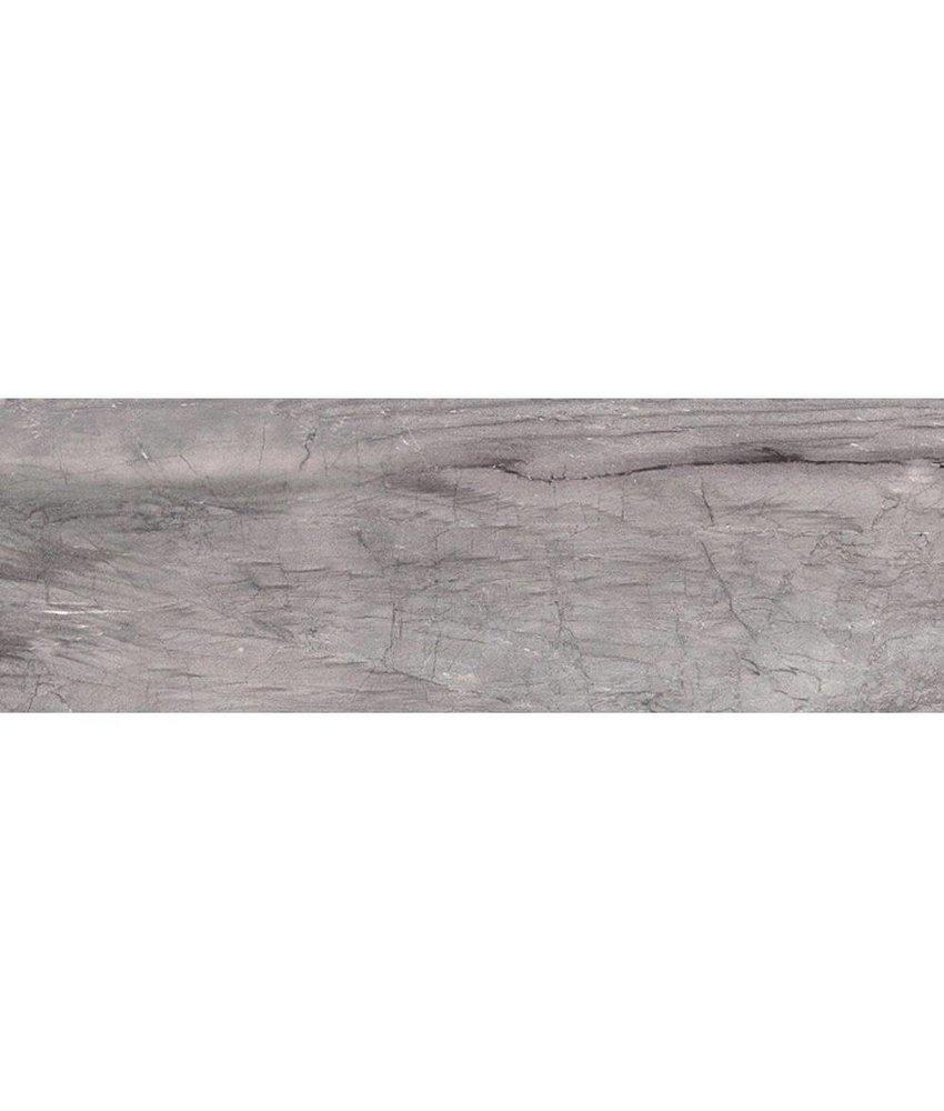 Wandfliese Terra Grey Glänzend - 25 cm x 75 cm x 0,8 cm