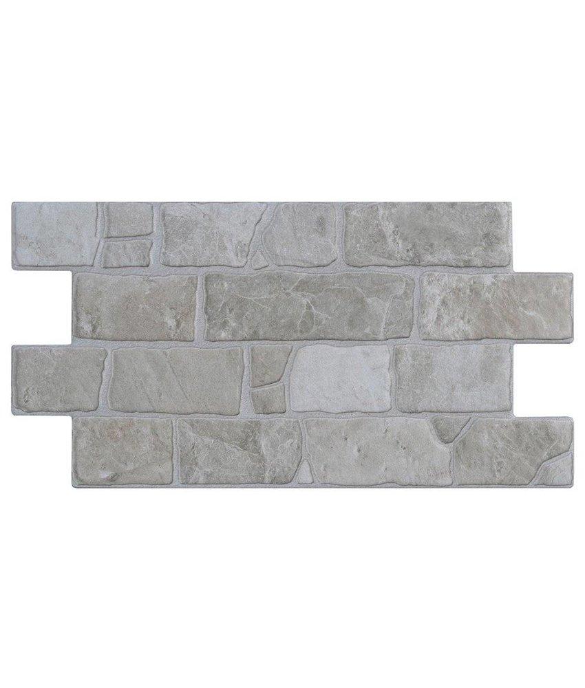 Wandverblender Finity White Feinsteinzeug glasiert matt - 30 cm x 54 cm x 0,9 cm