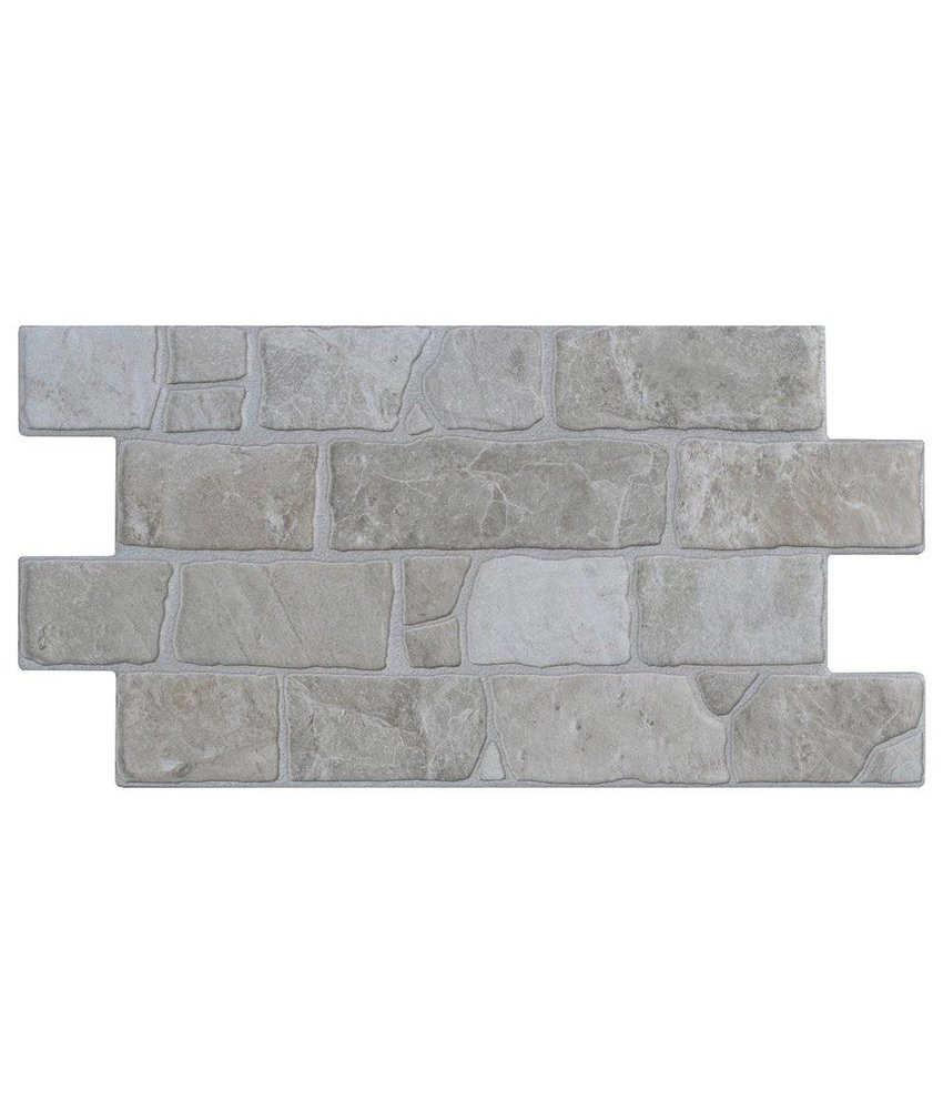 Wandverblender Infinity White Feinsteinzeug glasiert matt - Z30 cm x 54 cm x 0,9 cm