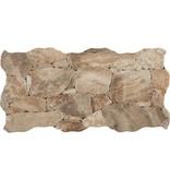 Wandverblender Miranda Naturale Feinsteinzeug glsiert matt - ~23 cm x 47 cm x 0,8 cm
