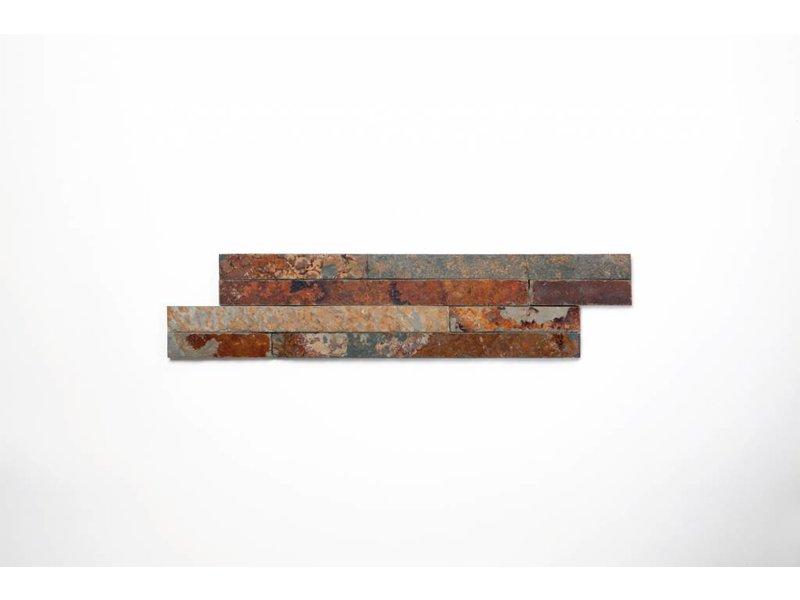 Brickstones - Schiefer multicolour (0,7-1 cm) - 10x40 cm