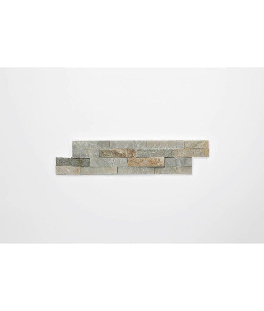 Brickstones - Schiefer beige (0,7-1 cm) - 10x40 cm