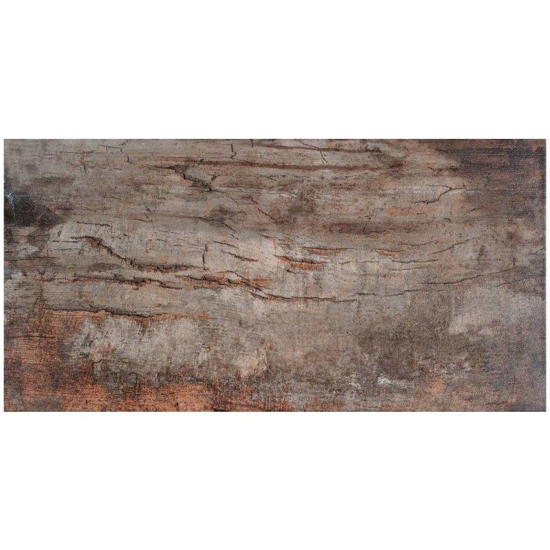 Bodenfliese Legno Cherry Feinsteinzeug glasiert poliert - 16 cm x 65 cm x 0,9 cm