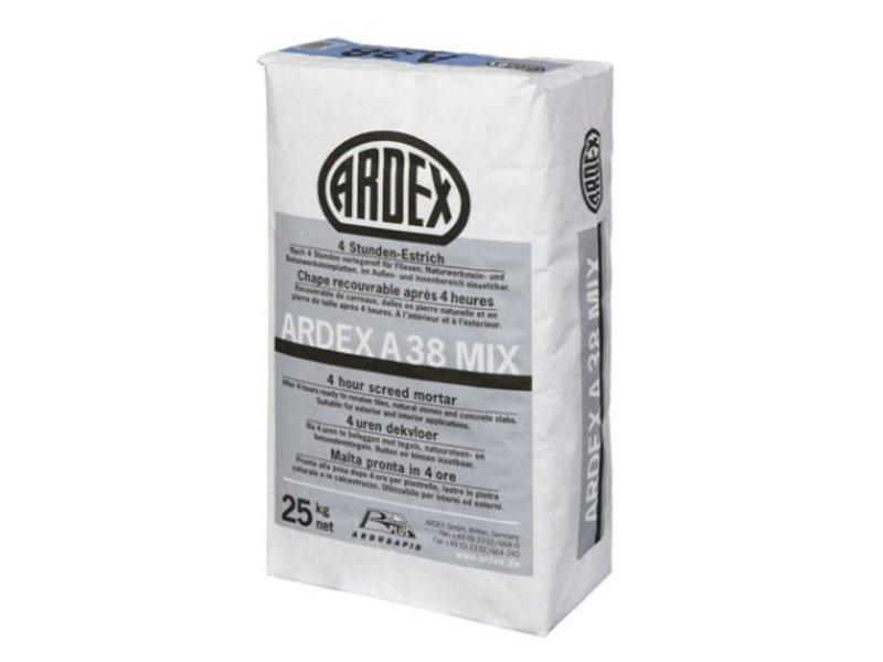 ARDEX A 38 MIX – 4-Stunden-Estrich (25 Kg)