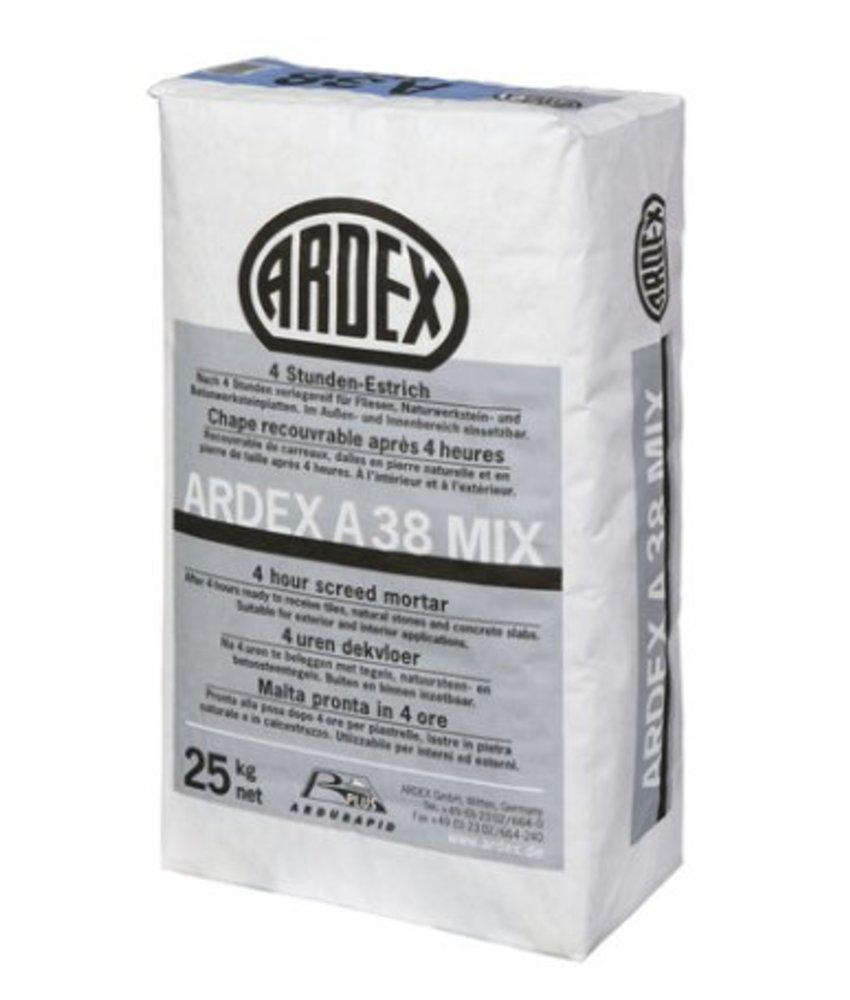 A 38 MIX – 4-Stunden-Estrich (25 Kg)