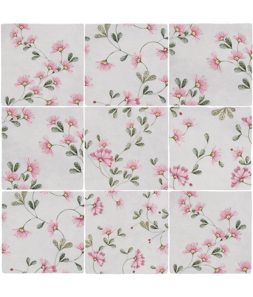 BÄRWOLF Ambience Spatolato Blossom Rose Random Mix - 13 cm x 13 cm