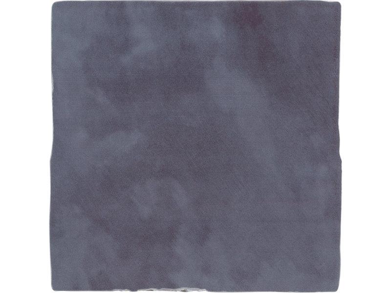 BÄRWOLF BÄRWOLF Ambience Spatolato Wall Blue - 13 cm x 13 cm
