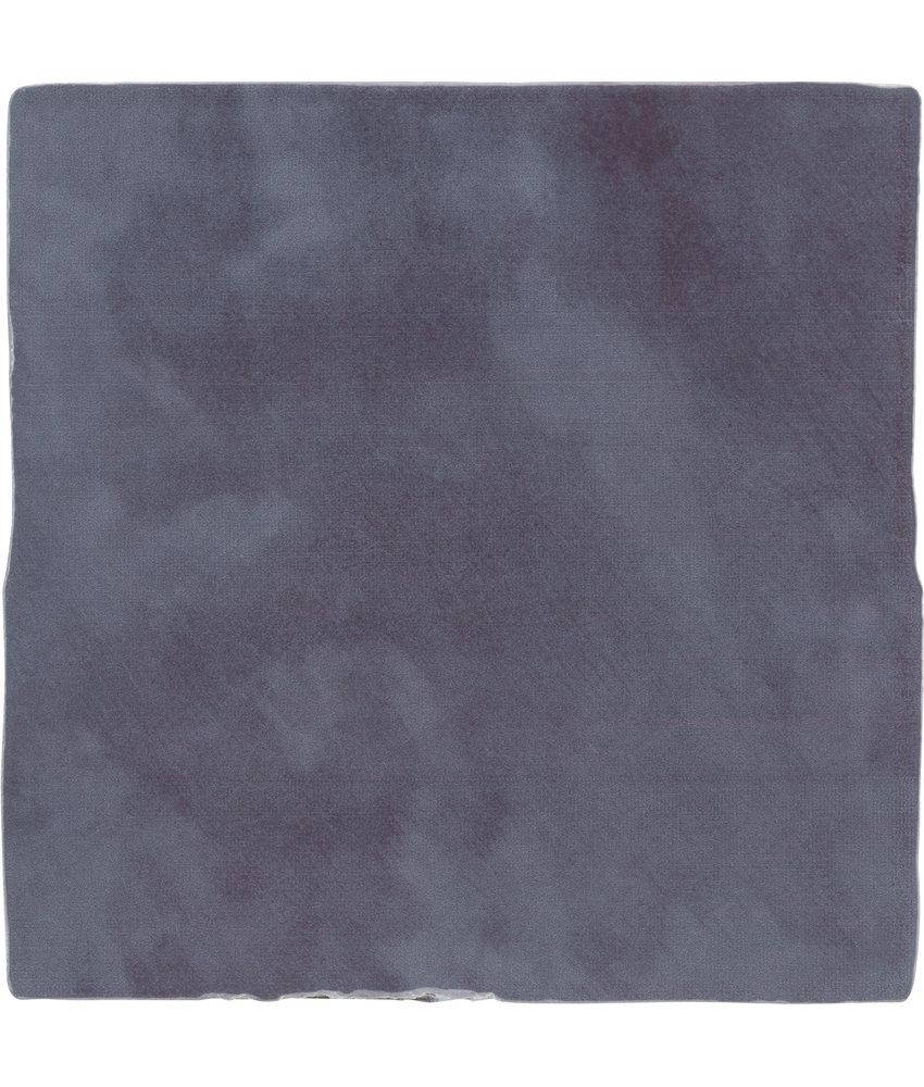 BÄRWOLF Ambience Spatolato Wall Blue - 13 cm x 13 cm