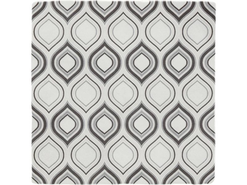 BÄRWOLF BÄRWOLF Ambience Spatolato Wallpaper Grey - 13 cm x 13 cm