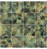 BÄRWOLF BÄRWOLF Ambience Jungle Green (Random Mix) - 18,5 cm x 18,5 cm x 0,8
