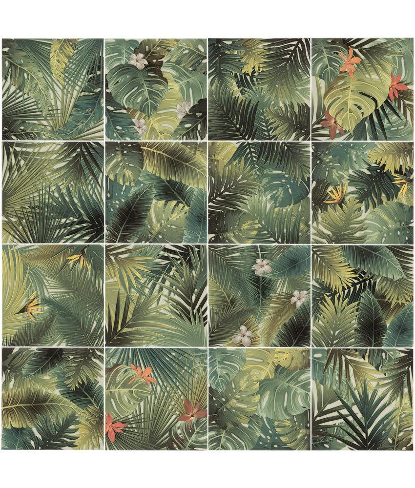 BÄRWOLF Ambience Jungle Green (Random Mix) - 18,5 cm x 18,5 cm x 0,8