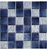 BÄRWOLF BÄRWOLF Mosaic Glamour Saphire Blue - 29.8 cm x 29.8 cm x 0,8