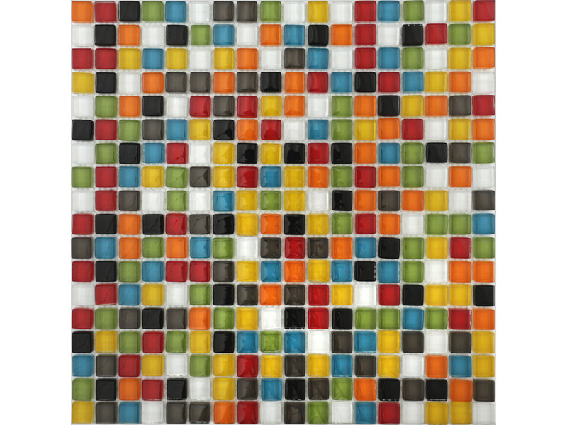 BÄRWOLF BÄRWOLF Mosaic Translucent Juicy Mix - 29,8 cm x 29,8 cm x 0,8