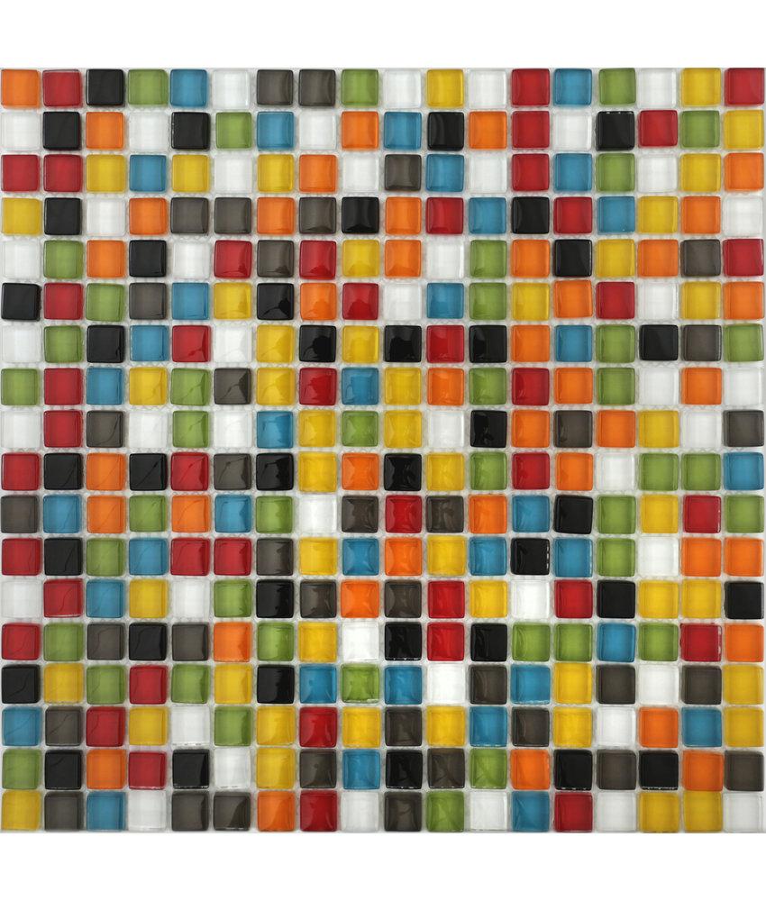 BÄRWOLF Mosaic Translucent Juicy Mix - 29.8 cm x 29.8 cm x 0,8