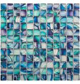 BÄRWOLF BÄRWOLF Mosaic Translucent Rainbow Mix - 29.8 cm x 29.8 cm x 0,8