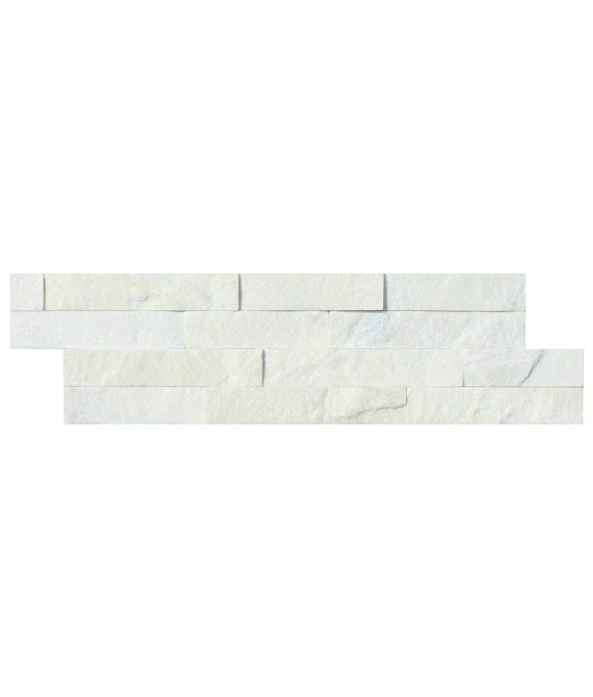 Wandverblender Naturstein Marmor Yellow - 10 cm x 40 cm