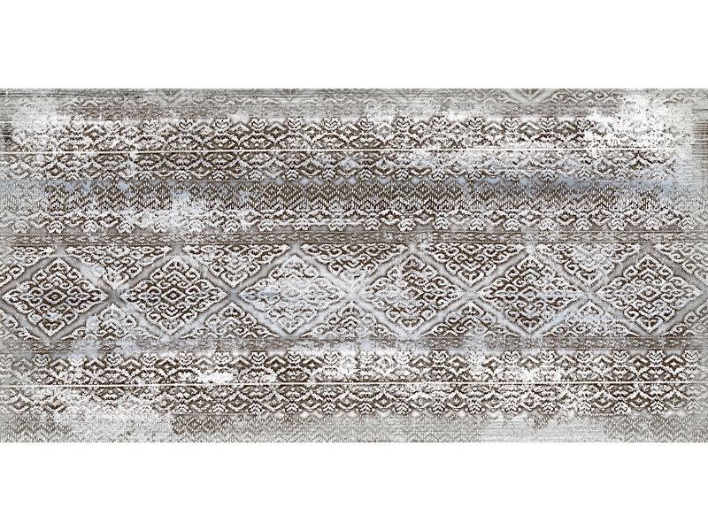 Bodenfliese Higher Weiß Dekor Feinsteinzeug glasiert - 30 cm x 60 cm x 1 cm