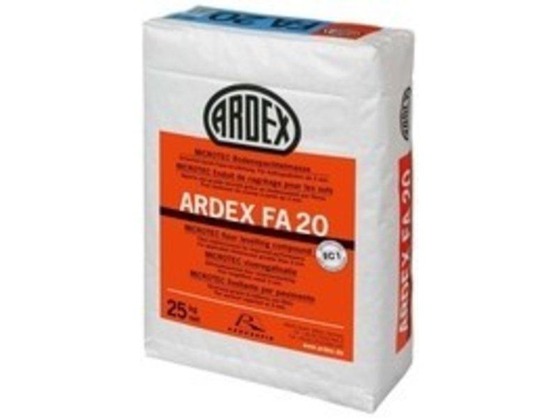 ARDEX FA 20 – Faserarmierte Bodenspachtelmasse (25 Kg)