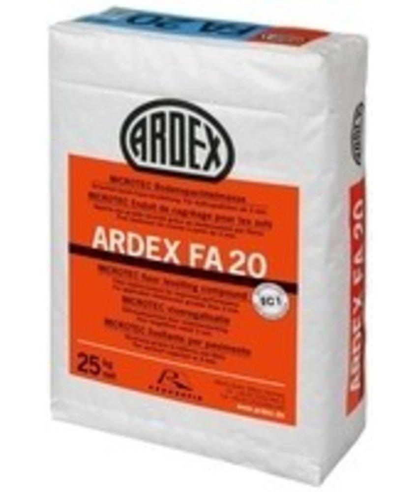 FA 20 – Faserarmierte Bodenspachtelmasse (25 Kg)