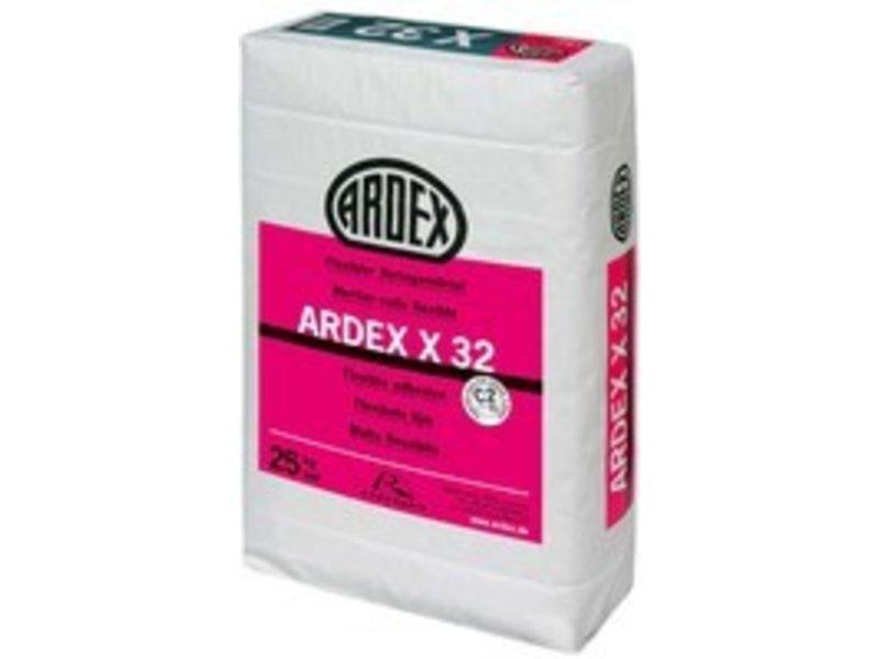 ARDEX X 32 – Flexibler Verlegemörtel (25 Kg)