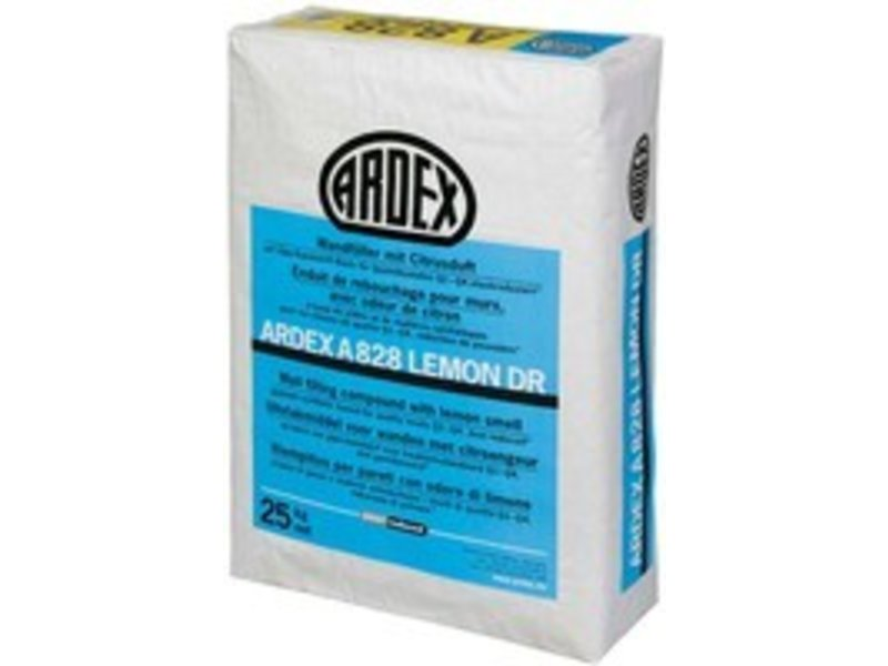 ARDEX A 828 Lemon DR – Wandfüller mit Citrusduft (25 Kg)