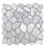 BÄRWOLF Natursteinfliesen RM-0001 Crush Bianco Carrara