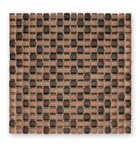 BÄRWOLF Glasmosaik-Fliesen GL-09002 Translucent sparkling brown