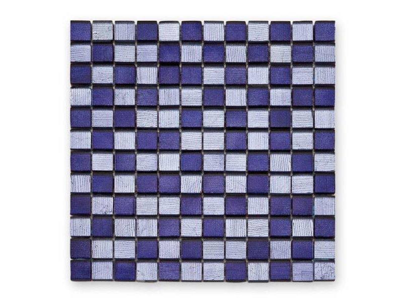 BÄRWOLF Glasmosaik-Fliesen GL-12002 Fineline purple