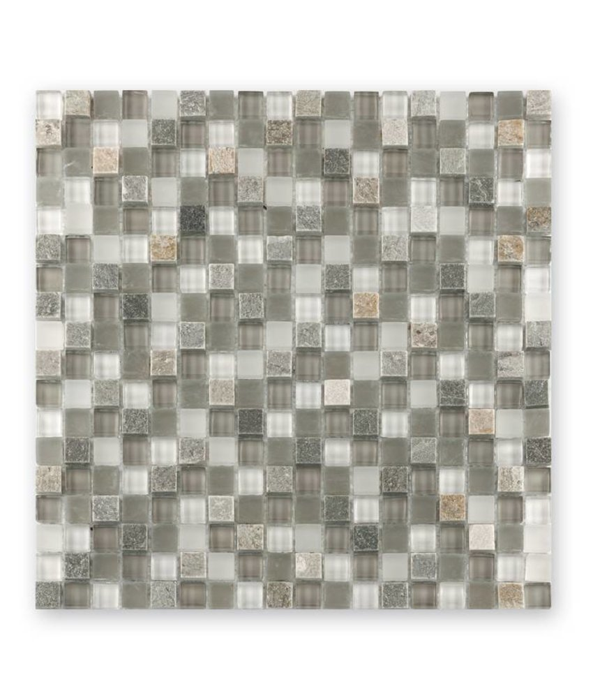 Materialmixmosaik-Fliesen GL-15022 Tuscany white lightrustic mix