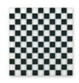 BÄRWOLF Glas-Mosaikfliesen GL-2501 Tuscany black & white