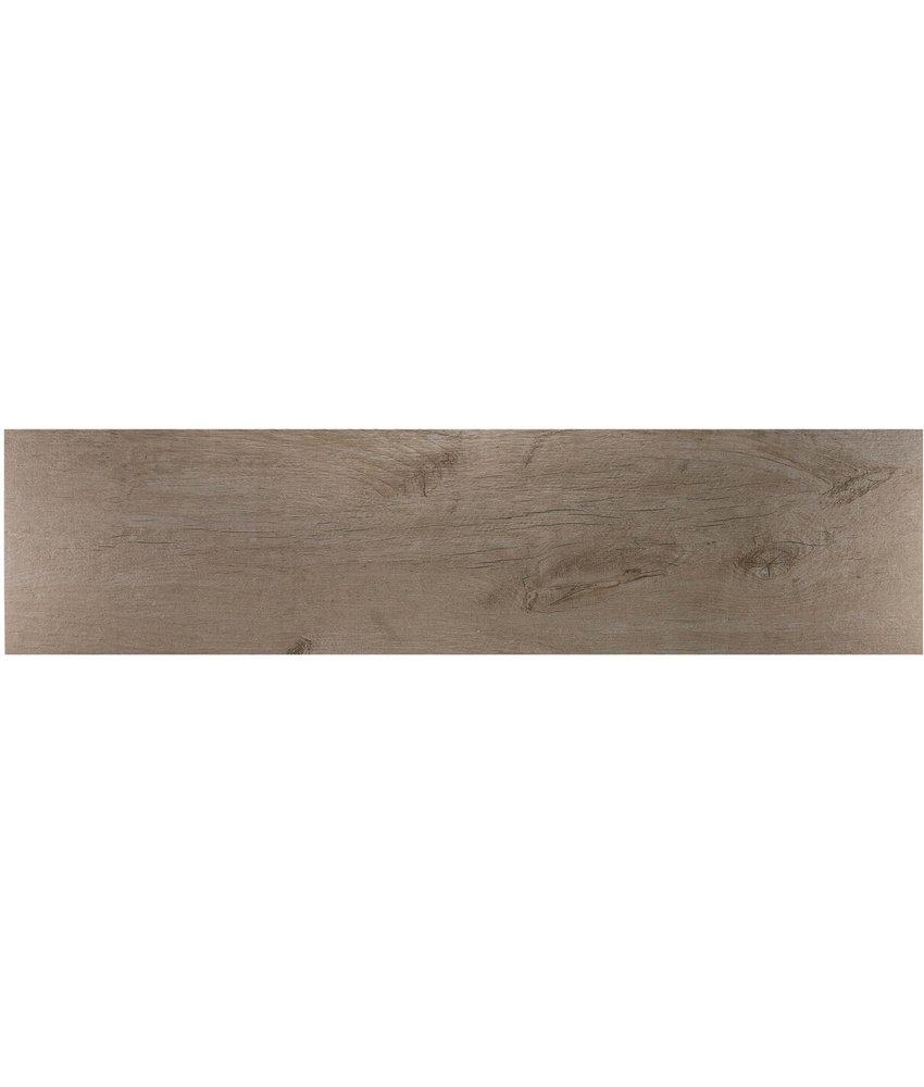 Bodenfliese Timber Natural Feinsteinzeug glasiert matt - 30 cm x 120 cm x 1 cm