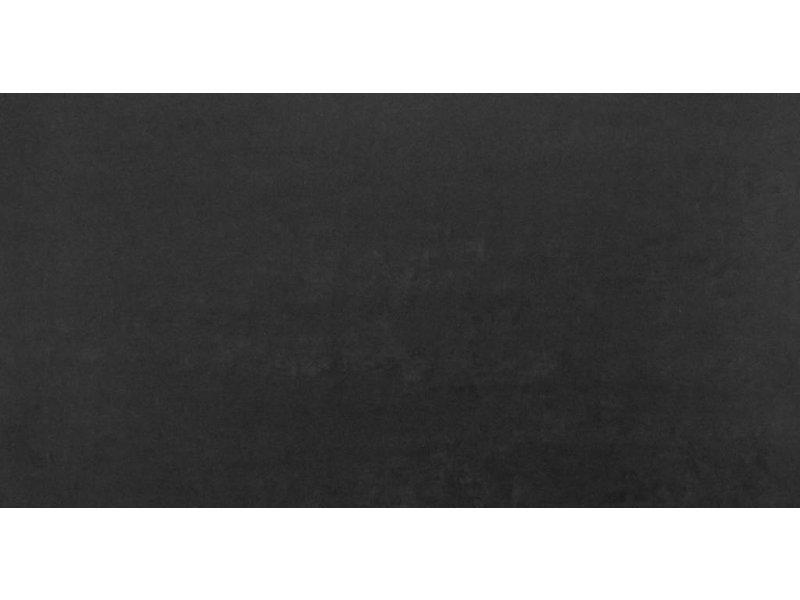 RAK Ceramics Feinsteinzeugfliese Gems black matt - 30x60 cm