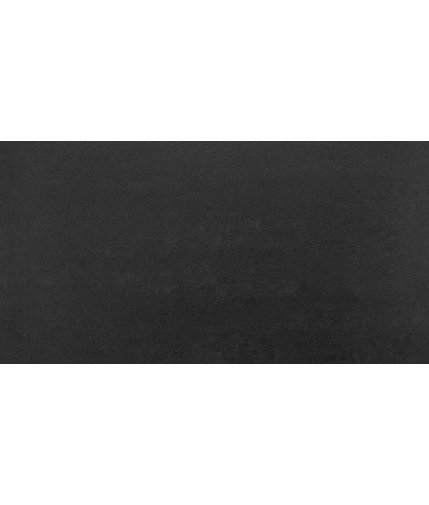 Feinsteinzeugfliese Gems black matt - 30x60 cm