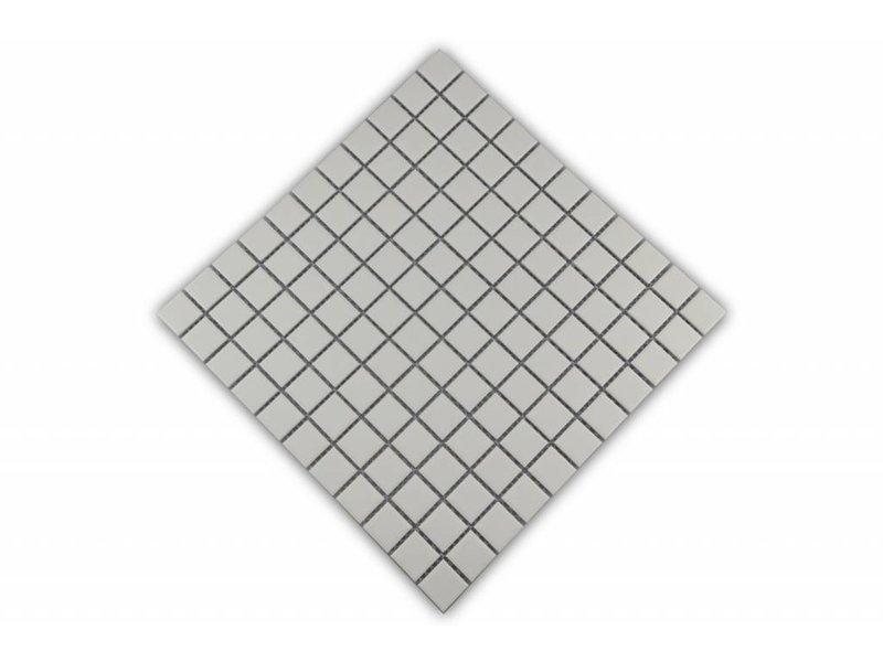 Keramikmosaik Fliesen weiß - 109