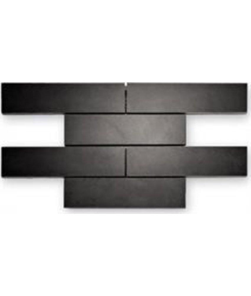 Naturstein Mosaikfliesen Loft BM-11001 black polished