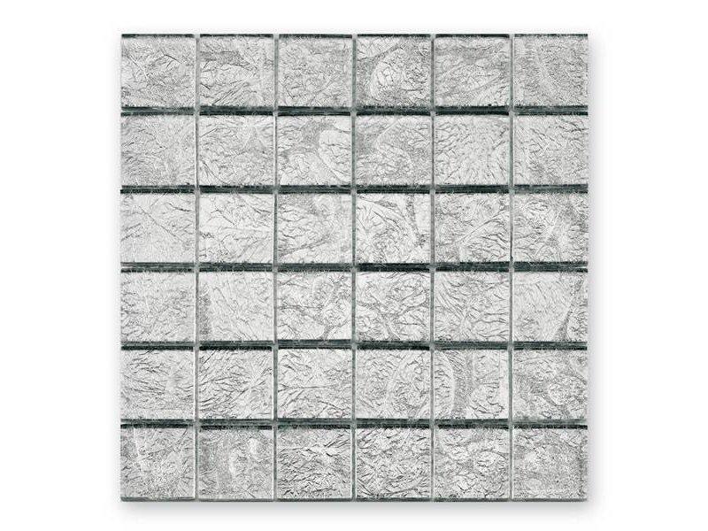 BÄRWOLF Glas-Mosaikfliese Byzantine GL-2536 silver