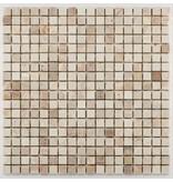 BÄRWOLF Naturstein Mosaikfliesen Orvieto AM-0002 beige