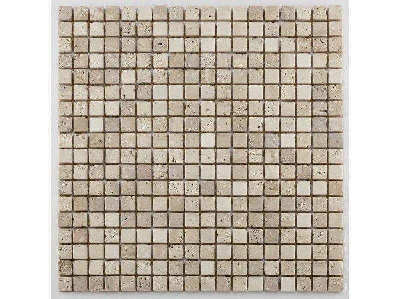 BÄRWOLF Naturstein Mosaikfliesen Orvieto AM-0003 beige