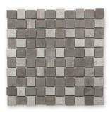 BÄRWOLF Naturstein Mosaikfliesen Djenné CM-15002 grey