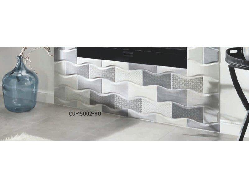 BÄRWOLF Ambience Curve CU-15002-DECO grau mix
