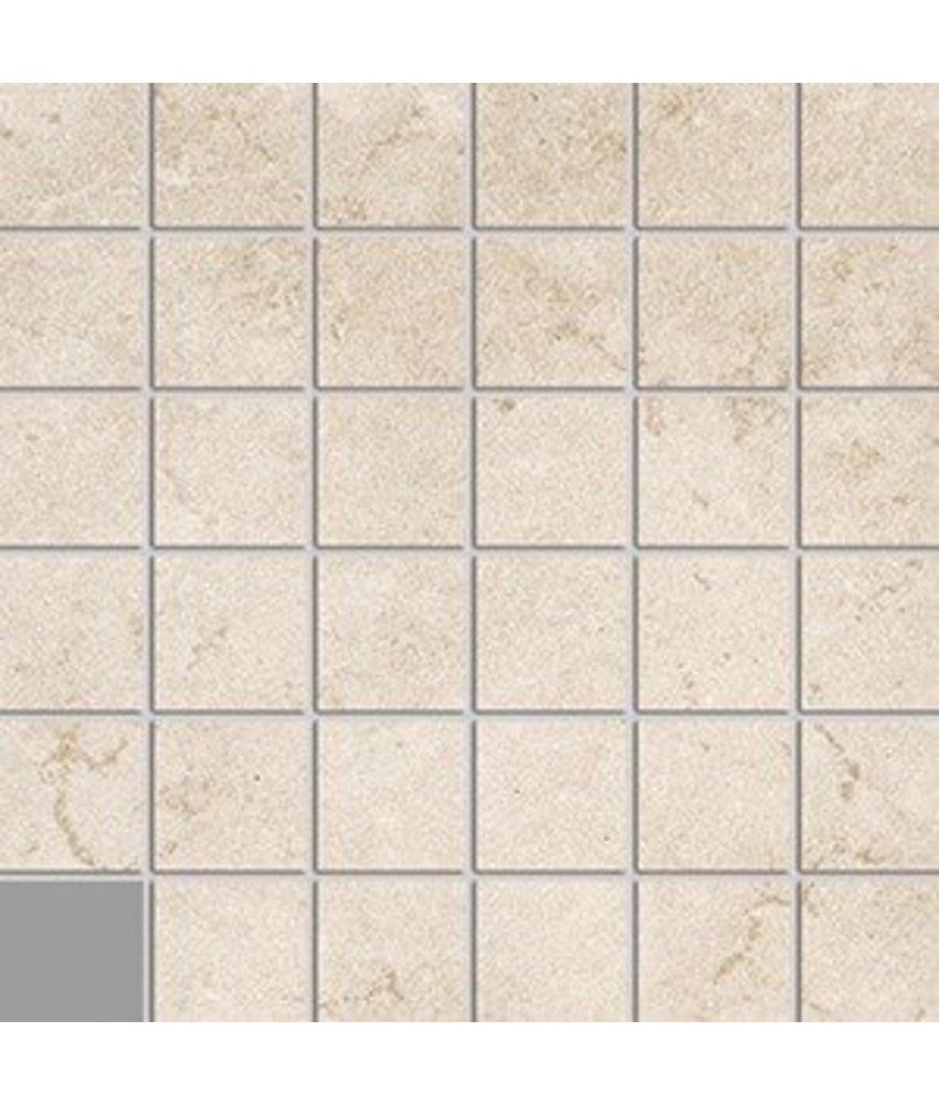 Loft LOF7120 Mosaik beige 5x5, R10B - 30x30 cm