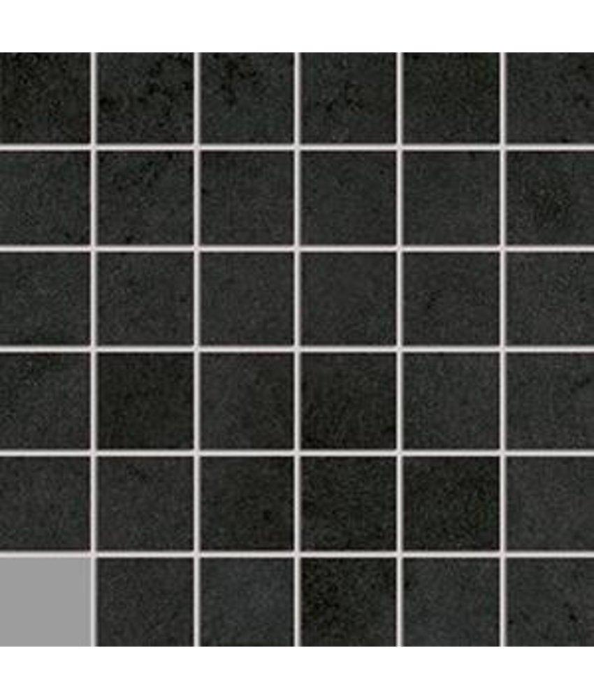 Loft LOF7140 Mosaik anthrazit 5x5, R10B - 30x30 cm