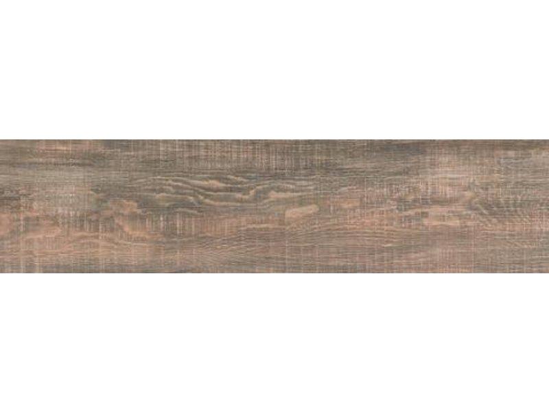 NORD CERAM Bodenfliese Gate GTE568 braun, rektifziert / R10 - 22x90 cm